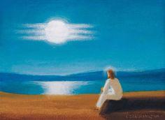 akryl  Hľadáte podobné dielo?  Skúste vyhľadávanie podľa nasledovných kľúčových slov: maľba,akryl,náboženský motív, Ježiš, Kristus, modlitba, rozjímanie, Božia prítomnosť, more, pobrežie, stretnutie s Bohom, pokoj