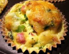 Mix all your ingredients and toss them into muffin pans, fun and easy