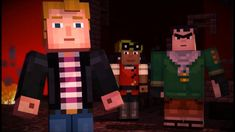 Ender Blossom's Minecraft Story Mode - Ep 1 Part 5 Mine Minecraft, No 6, Pop Culture, This Or That Questions, Stone, Ps4, Fictional Characters, Youtube, Label