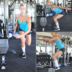 Steal volleyball player Nora Tobin's workout to burn fat and tighten up from head to toe.