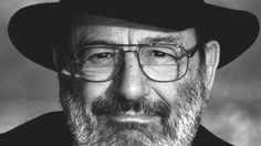 thestandrewknot:  'The thought that all experience will be lost at the moment of my  death makes me feel pain and fear… What a waste, decades spent  building up experience, only to throw it all away… We remedy this  sadness by working. For example, by writing, painting, or building  cities.'  Umberto Eco (January 5, 1932 – February 19, 2016)
