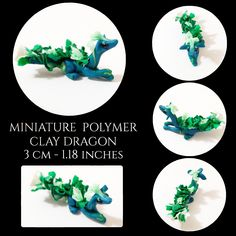 Handmade figurines and plushies. Polymer Clay Dragon, Sea Dragon, Little Dragon, Clay Art, Plushies, Create Yourself, Etsy Seller, Miniatures, Handmade Gifts