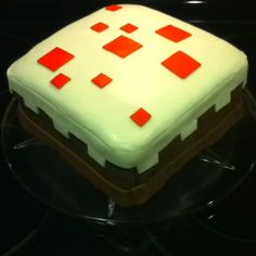 Minecraft cake, irl