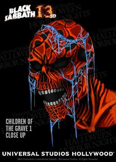 Black Sabbath Songs Come to Life in Universal Studios Halloween Horror Nights 3D Maze #Zombie