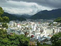 Uwajima in Ehime Prefecture, Japan