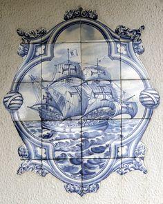 Arte nas casas de ílhavo-Portugal