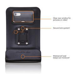 Satechi Pro RideMate Bike Mount (Waterproof Black 900 Series) for iPhone 6 Plus, 6, 5S, 5C, 5, 4S, HTC EVO, Inspire 4G, Sensation, Droid X, Incredible, 3, Samsung EPIC, Galaxy S4, S5, S6, S6 Edge, S7, S7 Edge, Nexus 6P