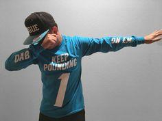 Cam Newton Carolina Panthers Dab On Em long sleeve t by TeeRabbit