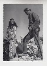 PIERRE BRICE / LEX BARKER - Starpostkarte - KARL MAY / WINNETOU
