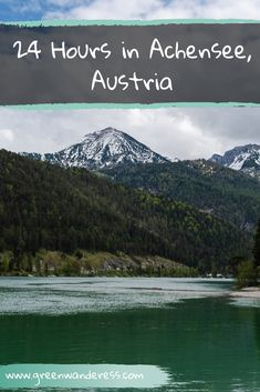 Top Things to do in Achensee, Austria in a Day – Green Wanderess – Best Europe Destinations Big Swimming Pools, Stuff To Do, Things To Do, Hotels For Kids, Visit Austria, Road Trip Hacks, Road Trips, Europe On A Budget, Slow Travel