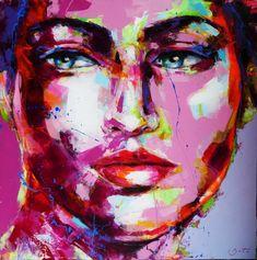 Peintre portraitiste contemporain Berto Artist At Work, Les Oeuvres, Images, Portraits, Artists, Artwork, Painting, Art, Contemporary
