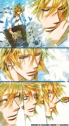 Skip Beat 205 - KYAAA!!! Colored underwater Kuon? Did I need more of a reason to fangirl?