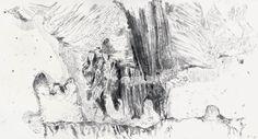 Der Maler Max Weiler 1910-2001 | Kunst - Zeichnungen und Arbeiten auf Papier - Die großen Zeichnungen, 1978-1985