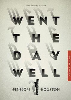 BFI Film Classics typography in book cover design