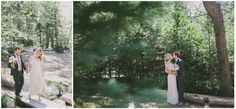 Loving all the green in this picture at Hidden Creek  I  Pine Rose Weddings  I Fondly Forever Photography