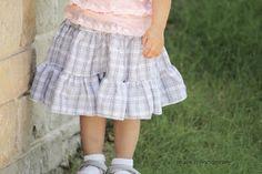 The Twirl Skirt- Tutorial by Make It Handmade