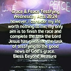 Grace & Peace Testifying Wednesday