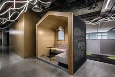 Broadcom Yakum office by Setter Architects, Yakum – Israel Office Cube, Office Pods, Green Office, Workplace Design, Corporate Design, Retail Design, Office Pictures, Cube Design, Office Meeting
