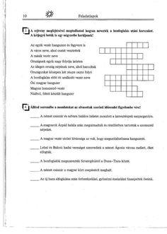 Lehel 3. Olvasni jó! Szövegértés gyakorlóból Crossword, Crossword Puzzles