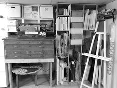 #artstorage #canvas #blueprintcabinet Art Storage, Cabinet, Canvas, Home Decor, Clothes Stand, Tela, Decoration Home, Room Decor, Closet