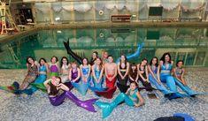 MERMAID swim school and SHOW in NYC!