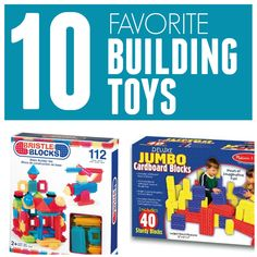 Toddler Approved!: 10 Favorite Building Toys for Kids