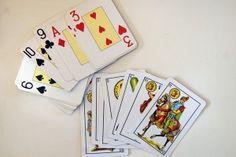 Cálculo mental con cartas: Mayor o menor; Sumas, restas y multiplicaciones