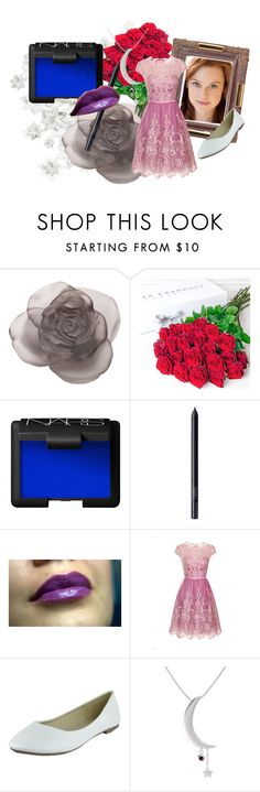 """""""Rose Makeover"""" by founders-reborn-author on Polyvore featuring Daum, Philippa Craddock, NARS Cosmetics, Chi Chi, Gemvara, MakeOver, wattpad and foundersreborn"""