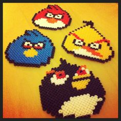 Angry Birds perler beads by sezer_a