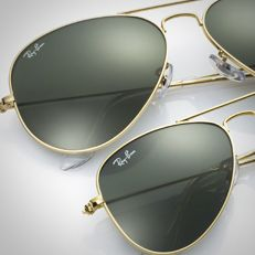 Ray Ban Aviators Small Vs Large