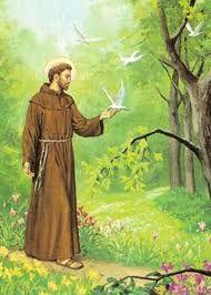Francis of Asissi Santa Clara, Jean Miro, St Francisco, Land Of The Living, Patron Saint Of Animals, Francis Of Assisi, Patron Saints, Animation, Holy Spirit