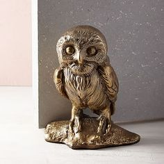 Scandi Animal Doorstop - Owl #westelm