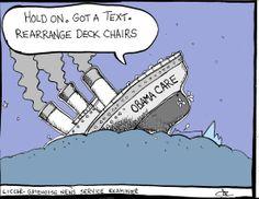 "Joe Liccar on the ""Obamacare"" Titanic."