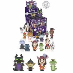 FUNKO Mystery Minis  Disney Villains Set of 12 HOT Topic Disney Villains, Disney Characters, Fictional Characters, Funko Mystery Minis, Mystery Box, Cata, Clay Projects, Hot Topic, Minnie Mouse