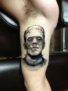 Frankenstein's Monster Tattoo