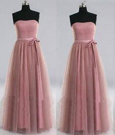 Sweetheart Handmade Pink Chiffon Homecoming Dress