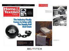 """O sucesso no Market Week SS2017 reflectido na revista Home & Textiles Today!  A revista Home & Textiles Today é considerada o """"Wall Street Journal"""" da indústria de #têxteis, reúne todos os eventos e #tendências que moldam a nossa indústria. → www.bestitch.pt"""