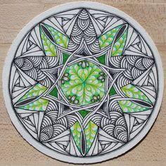 ⊰❁⊱ Mandala ⊰❁⊱ Zendala by Chelsea Kennedy CZT