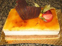pastel massini delicioso postre uruguayo