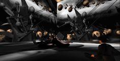 Danger in Evolution / Inspiritum Gallery http://maps.secondlife.com/secondlife/Inspiritum/126/144/2002