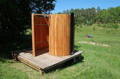 Solar shower complete | Flickr - Photo Sharing!