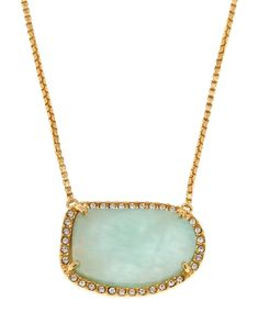 Louise Et Cie Gold-Tone Accented Necklace