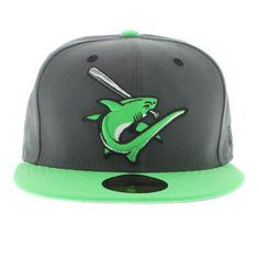 Clearwater Threshers The Jordan 4 Green Glow 59fifty By New Era Cap 12a7dcebce4