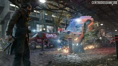 Ubisoft Mostra Gameplay de Watch Dogs no PlayStation 4.