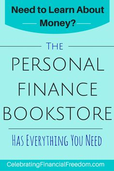 You should learn as much about money as you possibly can!  That's why I put together this collection of awesome resources!    Learn about Investing, getting out of debt, relationships, business, and much more with the Celebrating Financial Freedom Bookstore!  #books #bookstore #finance #money  http://www.cfinancialfreedom.com/bookstore