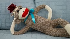 sock LINK is posted on our blog, SEE BELOW.... You can now make this classic American toy: The Sock Monkey. Try it with different types of socks and see how ...