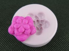 Silicone Flower Charm Mold Resin Polymer Clay Flower Cabochon Molds