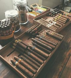 This collection from our IG friend @cigar.affair