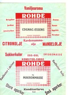Diverse ROHDE produkter