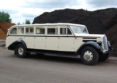 1936 White Yellowstone tour bus, how cool would this be in NZ??